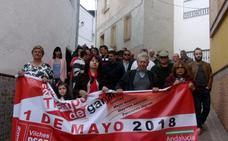 150 personas participan en la manifestación del 1º de Mayo en Vilches