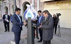 Granada instala un sistema gratis de cargador de móviles con energía hidráulica