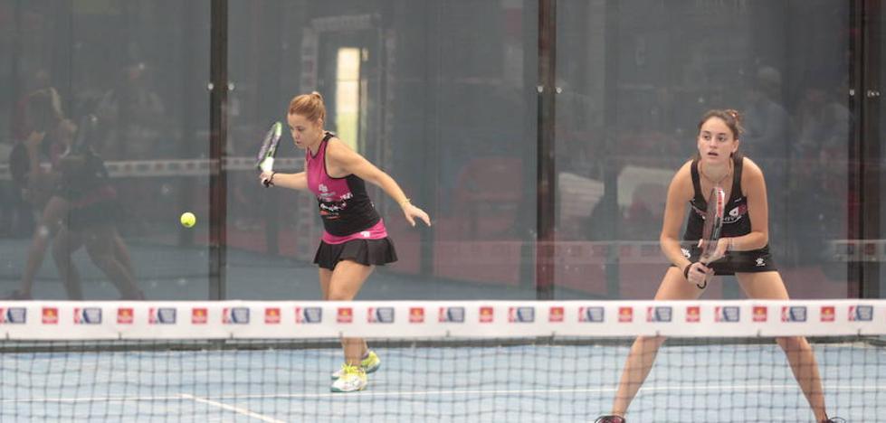 Lucía Martínez se enfrentará a las gemelas Alayeto en los octavos del Open de Zaragoza