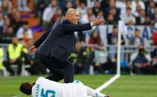 Zinedine Zidane: «Lo que tiene el Madrid es que nunca se rinde»