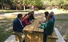 El consejero de Medio Ambiente valora las obras de mejora en las áreas recreativas del Parque Natural de Sierra Mágina