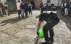 El Día de la Cruz en Granada se saldó con 172 denuncias y 400 llamadas a la Policía