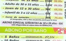 Consumo abrirá expediente a la piscina de Linares con 'abono especial a señoritas de 18 a 28 años'
