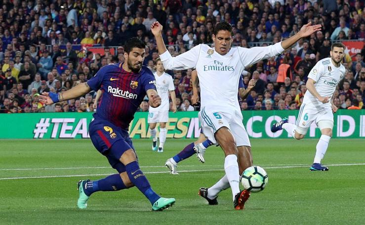 Las mejores imágenes del Barcelona-Real Madrid