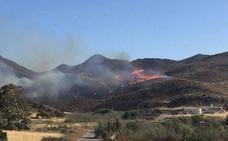 Endesa sigue investigada por el incendio forestal de Cabo de Gata