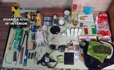 Tres detenidos por robos en casas y cortijos de Laroles y Caniles