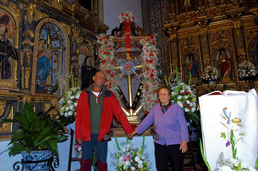 Pampaneira celebra sus fiestas en honor a la Santa Cruz y a San Blas