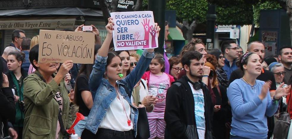 Huelga de estudiantes para protestar por la sentencia de 'La Manada'