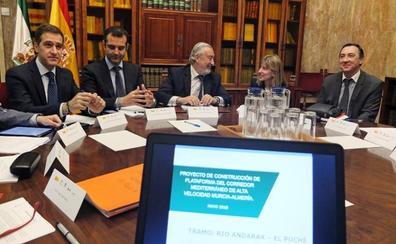 Apuesta unánime por soterrar hasta la avenida del Mediterráneo, que tendrá sus proyectos en un año