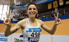Laura Bueno bate el récord de España en 300 metros