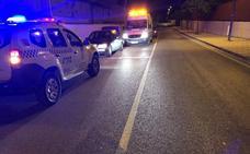 Cinco heridos, entre ellos dos menores, en una colisión entre dos turismos en Mancha Real