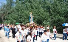 El buen tiempo reina en Villanueva de la Reina con Santa Potenciana