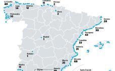 La Costa de Granada vuelve a pasar de las banderas azules y se sitúa a la cola de España
