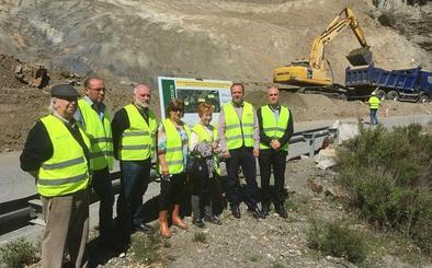 500.000 euros para mejorar la A-348 tras los daños provocados por el temporal