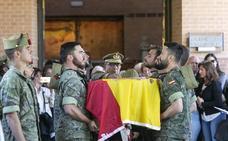 Emotivo adiós al legionario granadino fallecido en Alicante