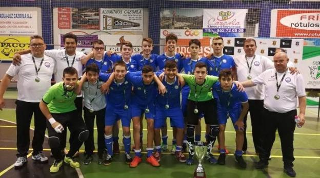 El CF Balerma 2015 se corona campeón de Andalucía cadete  ece15b4dcf6