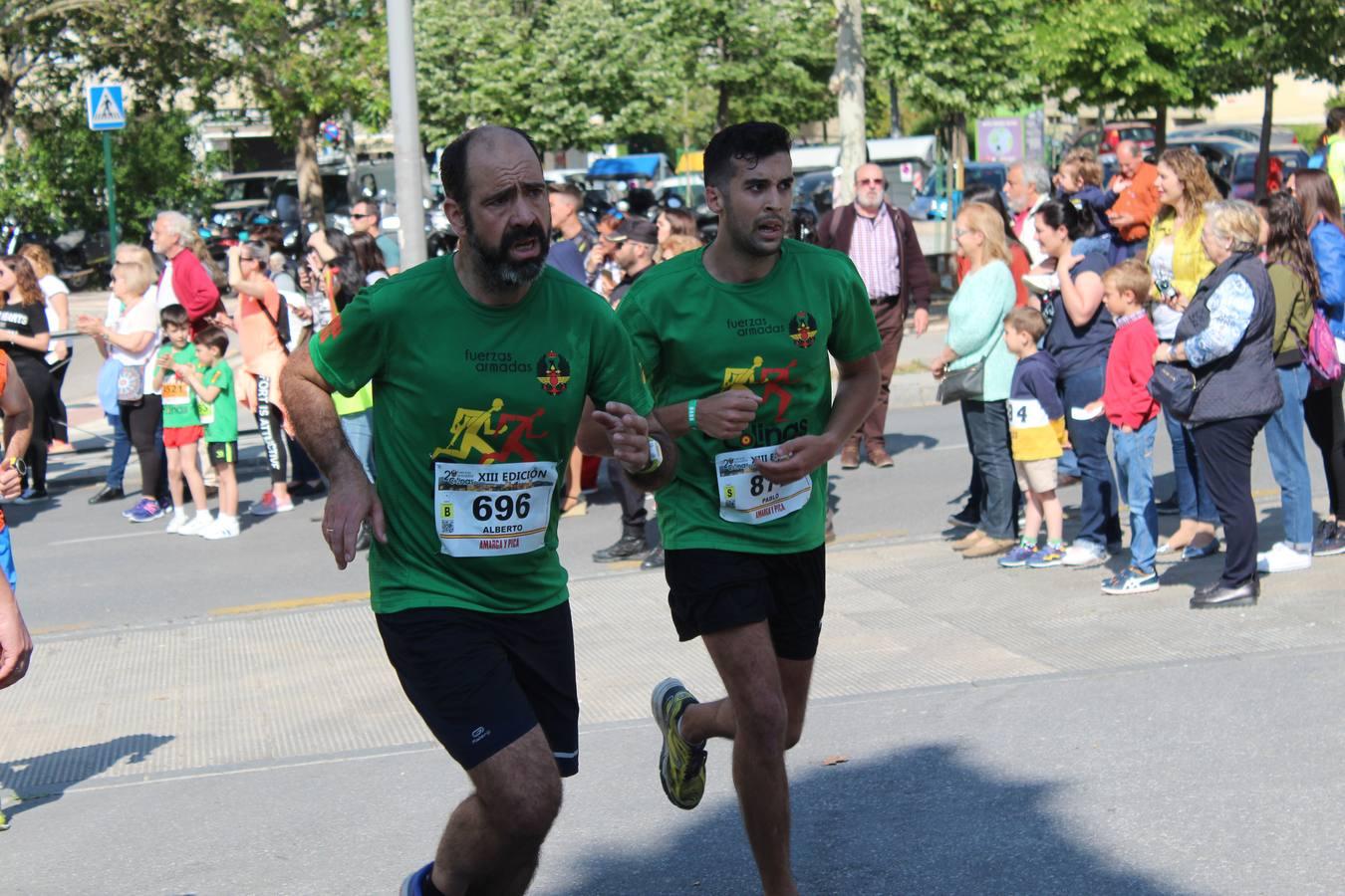 Casas y Olivares dominan en la carrera Dos Colinas de las Fuerzas Armadas