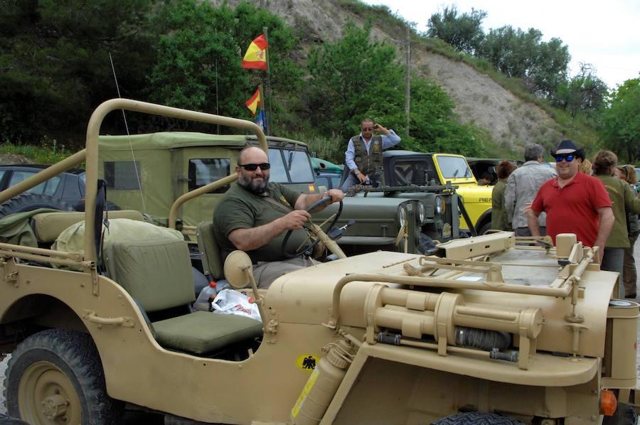 'Invasión' de Jeep Willys en Lanjarón