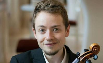 La Joven Orquesta de la Unión Europea reconoce al violinista Samuel García