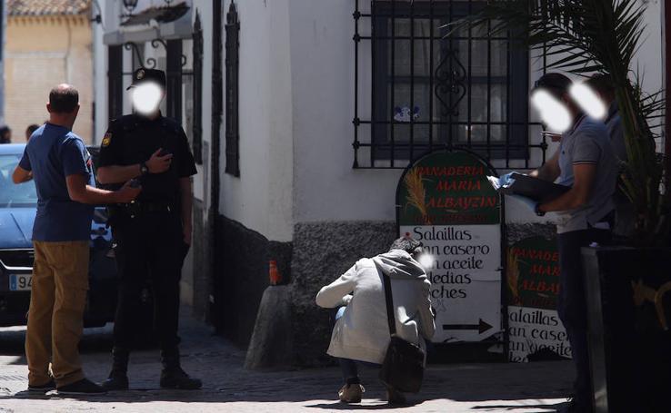 La Policía Nacional, en la zona donde un menor ha efectuado varios disparos