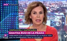 «Firmé el divorcio con burka porque a Pedro J. no le quiero ver ni en pintura»: el duro testimonio de Ágatha Ruiz de la Prada