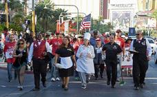 Polémica en Las Vegas por una huelga que paraliza los casinos