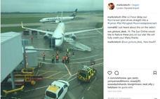 Un avión destino Málaga y otro de Ryanair chocan cuando iban a despegar en un aeropuerto de Londres