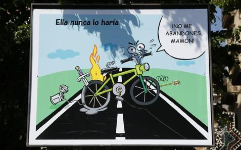 Los destrozos de las bicis de alquiler, tema de la caroca ganadora del Corpus de Granada 2018