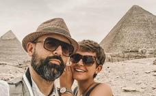 «Mi Indiana Jones»: El impresionante viaje de Laura Escanes y Risto Mejide a Egipto