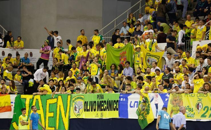 Todas las imágenes del encuentro entre el Jaén FS y el Movistar Inter