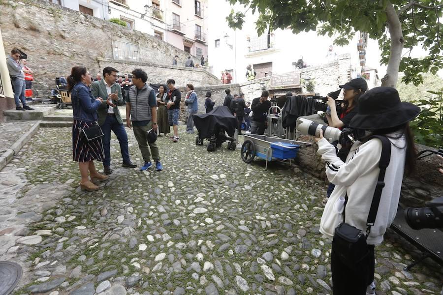 Granada acoge el rodaje de una serie coreana