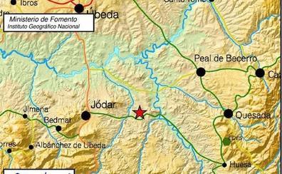 Registrado un terremoto de magnitud 3.4 con epicentro en Jódar