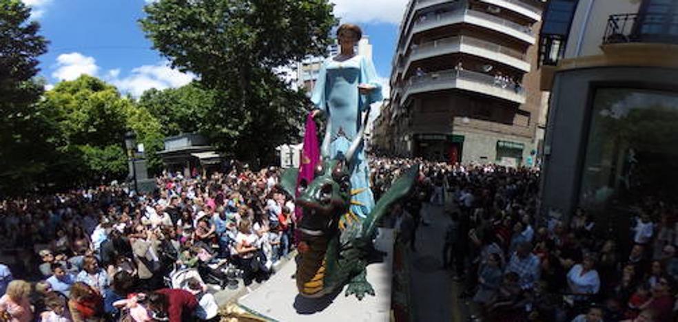 El desfile de la Tarasca, en primera persona en 360º