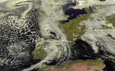 Cambio radical del tiempo en la Península: lluvias, tormentas y temperaturas revolucionadas
