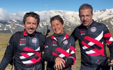 Sara Baras sube al pico más alto de Sierra Nevada por una buena causa