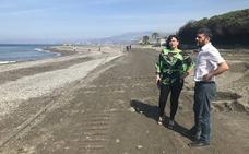 Vecinos de Motril convocarán una manifestación para exigir los espigones y protestar por los destrozos en la playa de Poniente