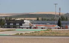 Suspendido el primer vuelo de Granada a Madrid de este sábado