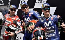 'Pole' de récord en Mugello para el 'abuelo' Rossi