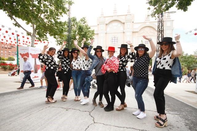 Séptimo día de la Feria del Corpus 2018 en Granada