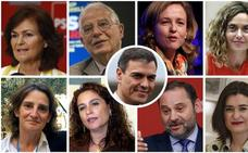 Los nombres del nuevo Gobierno de Sánchez