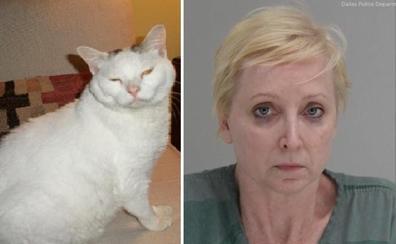 Una mujer mata a su marido al verlo maltratando a su gato
