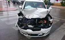 Dos heridas en un accidente en Mancha Real