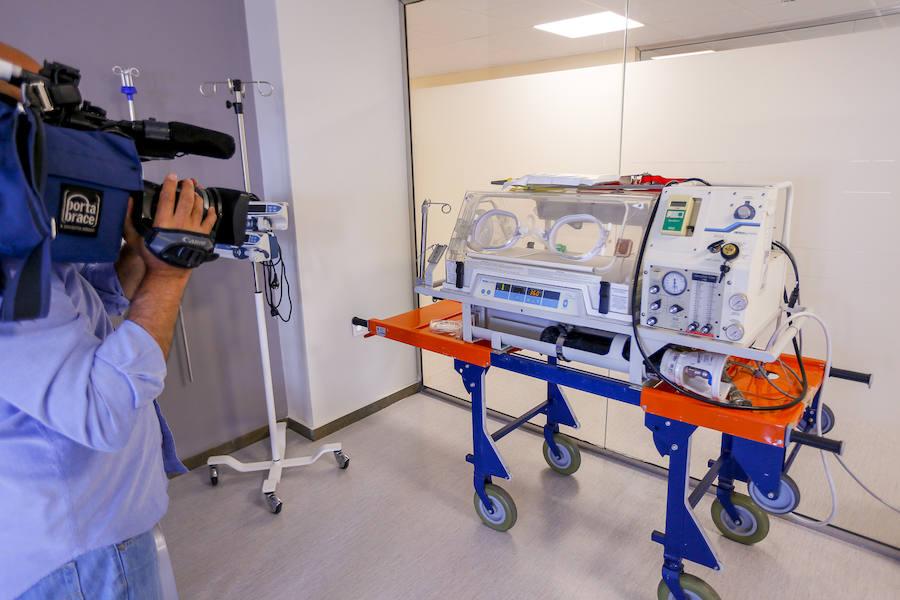 El hospital de Motril estrena la reformada área de Pediatría