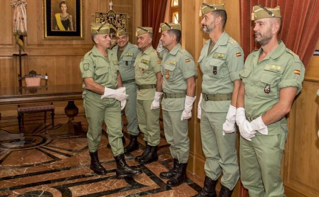 El general Marcos Llago ostenta la jefatura de la Brigada de La Legión desde ayer