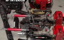 Dos detenidos por el robo de maquinaria durante la campaña de la aceituna en Baeza