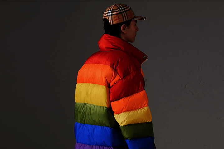 Así e el famoso chaquetón arcoiris de Primark