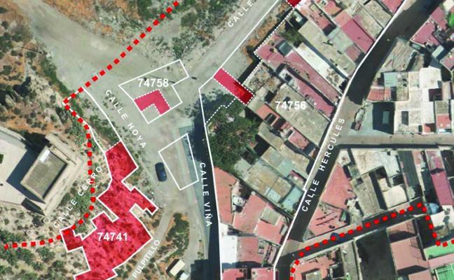 Urbanismo acaba ya la adquisición de suelo previo a la mejora del entorno de la Alcazaba