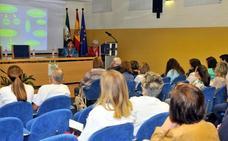 La ONCE hace extensiva su labor durante un encuentro en el Hospital San Agustín