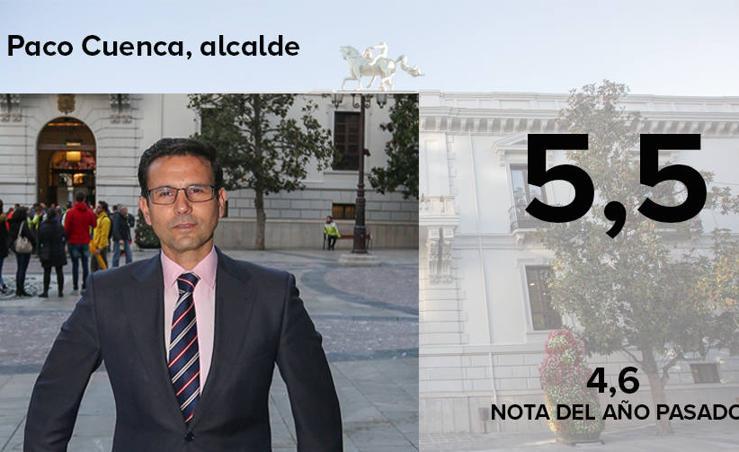 La nota de los concejales del Ayuntamiento de Granada