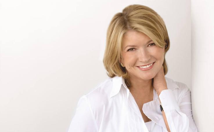 Martha Stewart, la famosa que aparenta muchos menos años de los que tiene